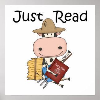 Apenas leído póster
