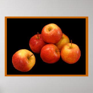 Apenas manzanas impresiones