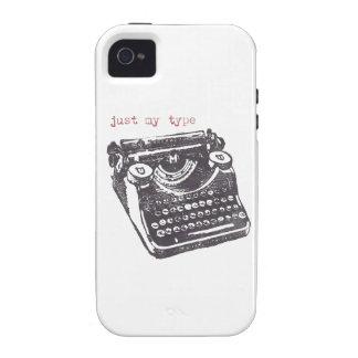 """""""apenas mi tipo"""" caso del iphone 4/4s iPhone 4 funda"""
