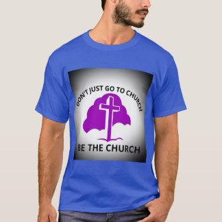 Apenas no va a la iglesia sea la camiseta de la