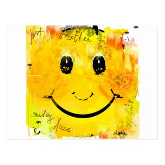 Apenas otra cara sonriente postal