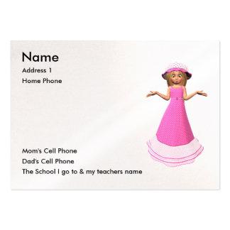 Apenas para los niños tarjetas de negocios