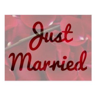 """""""Apenas"""" postal casada"""