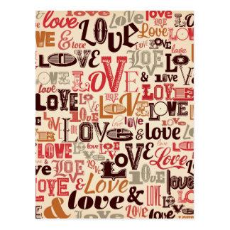 Apenas postal del amor