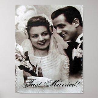 Apenas poster casado