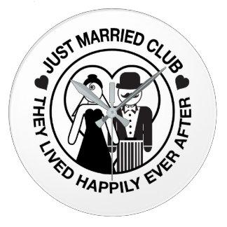 Apenas reloj adaptable casado del boda