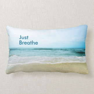 "Apenas respire la almohada lumbar 13"" del | X 21 """
