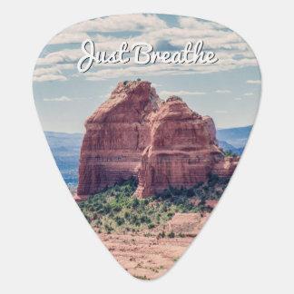 Apenas respire la púa de guitarra del fondo el |