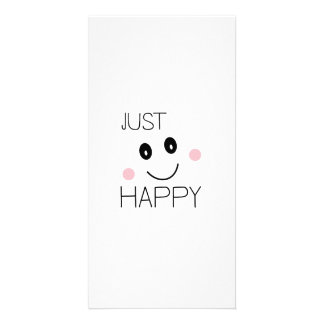 Apenas smiley feliz tarjetas personales