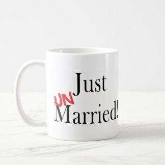 Apenas soltero taza de café