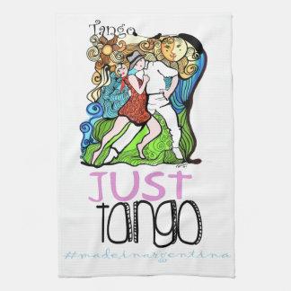 Apenas tango hecho en la Argentina Paño De Cocina