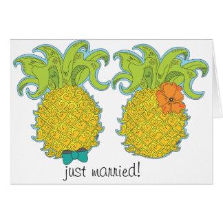 Apenas tarjeta casada