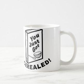 Apenas taza conseguida de Cerealed