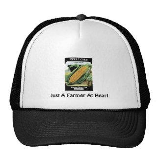 Apenas un granjero en el corazón gorras