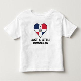 Apenas un poco dominicano camiseta de bebé