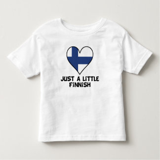 Apenas un poco finlandés camiseta de bebé