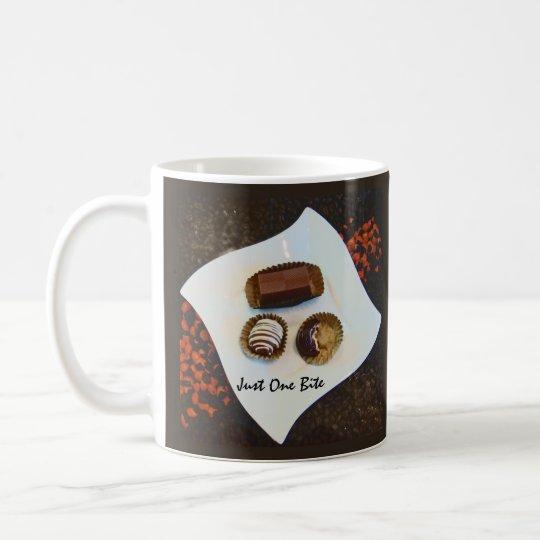 Apenas una mordedura - chocolate del amor de I Taza De Café
