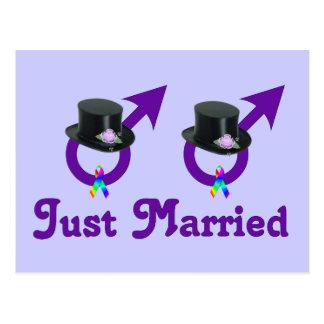 Apenas varón gay formal casado postal