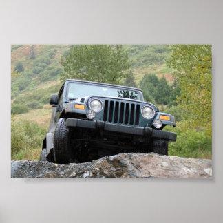 Apenas yo y mi jeep - por Logan Guinn Póster