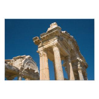 Aphrodisias de Turquía un sitio romano de Archaelo Arte Con Fotos