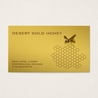 Apiarist del apicultor del vendedor de la abeja tarjeta de negocios