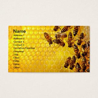 Apiarist del apicultor del vendedor de la miel de tarjeta de negocios