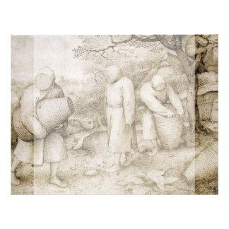 Apicultores de Pieter Bruegel la anciano Folleto 21,6 X 28 Cm