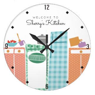 aplicaciones coloridas que cocinan el reloj de la
