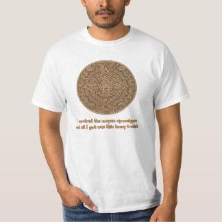 Apocalipsis maya camiseta
