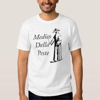 Apodo a los estudiantes de medicina Della Peste Camisas