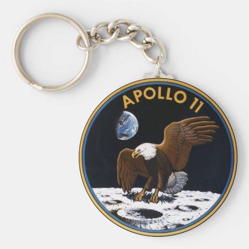Apolo 11 llavero personalizado