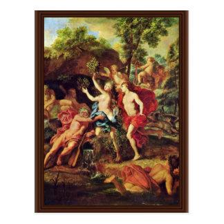 Apolo y Daphne por el retrete Jean-Baptiste Van Postal