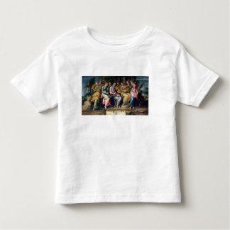 Apolo y las musas, 1600 camiseta
