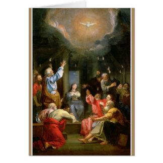 Apóstoles del Virgen María del Espíritu Santo de Tarjeta De Felicitación