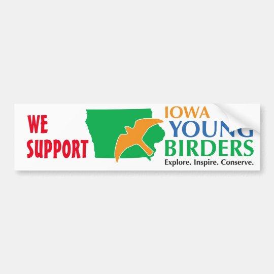 Apoyamos a la pegatina para el parachoques de IAYB Pegatina Para Coche