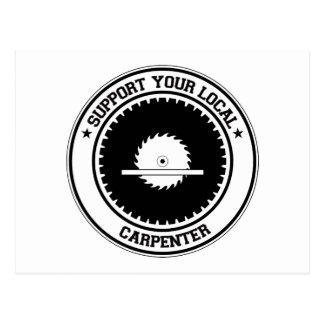 Apoye a su carpintero local postal