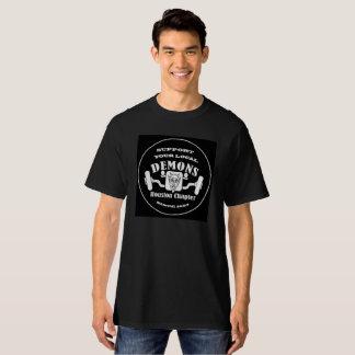 Apoye a sus demonios locales camisetas