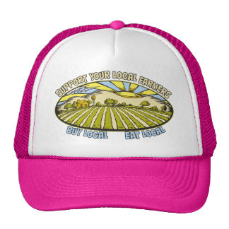 Apoye a sus granjeros locales gorra