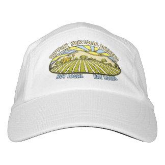 Apoye a sus granjeros locales gorra de alto rendimiento