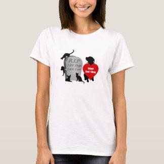 Apoye Adopt no hacen compras camiseta del