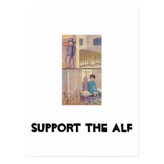 Apoye al ALF Tarjetas Postales