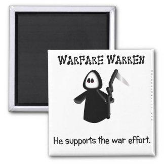 Apoye (conclusión) el esfuerzo de la guerra imán cuadrado