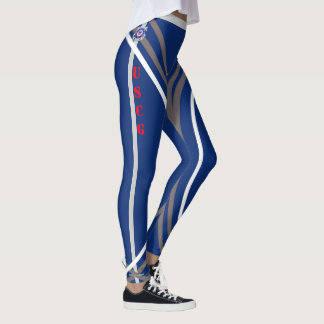 Apoye las polainas #5 de las tropas leggings