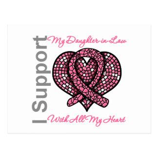 Apoyo a mi cáncer de pecho de la nuera postales