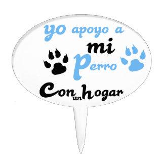 Apoyo de Yo al MI Perro Figuras De Tarta