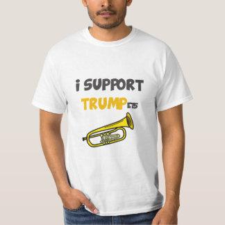 Apoyo las trompetas camiseta