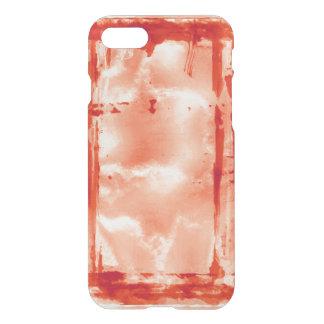 Apoyo rojo de la casa encantada del laboratorio de funda para iPhone 7