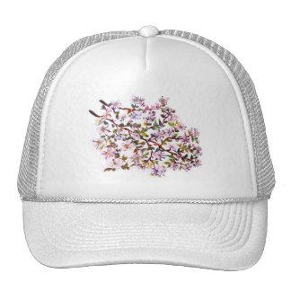 Apple alegre florece pintura de acrílico de las gorros