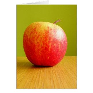 Apple carda tarjeta de felicitación