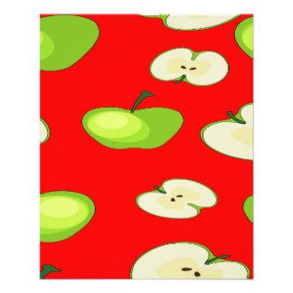 Apple da fruto modelo folleto 11,4 x 14,2 cm